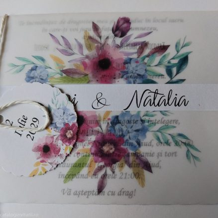 Detaliu din catalog model floral 2257