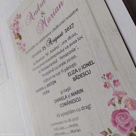 detaliu din catalog vedere laterala invitatie 20233
