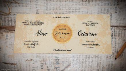 carton invitatie 22362