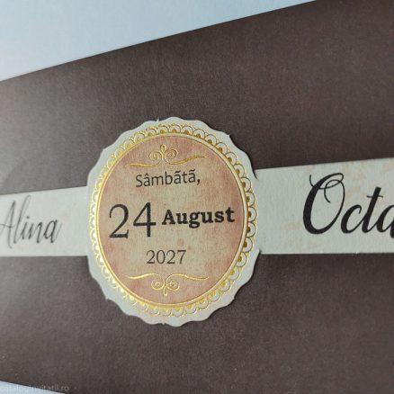 detaliu macro din catalog invitatie 22362