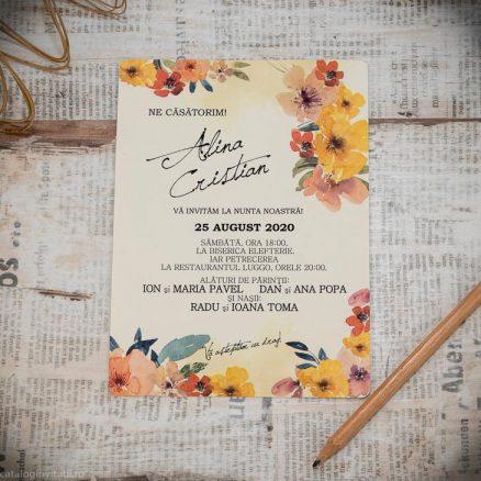 carton invitatie 22301